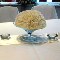 28 Esküvői asztaldísz
