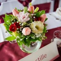 34 Esküvői asztaldísz
