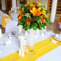 36 Esküvői asztaldísz