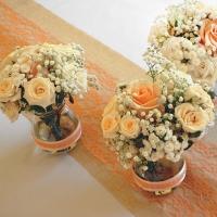 57 Esküvői asztaldísz