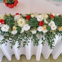 33 esküvői főasztaldísz