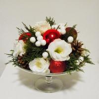 Karácsonyi asztaldísz rendezvényre