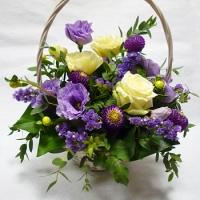 Szülőköszöntő virágkosár 21