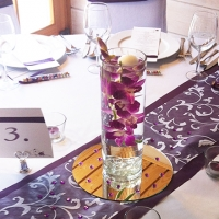 49 Esküvői asztaldísz
