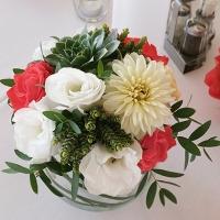 56 Esküvői asztaldísz