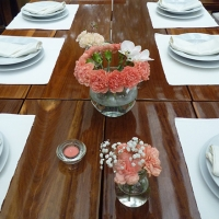 59 Esküvői asztaldísz