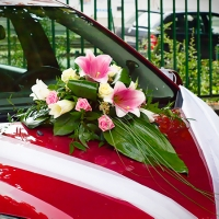 10 Esküvői autódísz