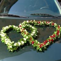 08 Esküvői autódísz