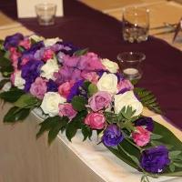32 esküvői főasztaldísz