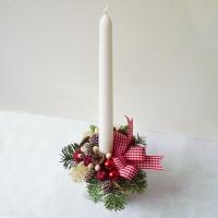Kis karácsonyi asztaldísz