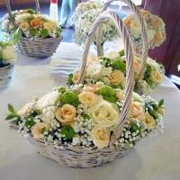 Szülőköszöntő virágkosár 24